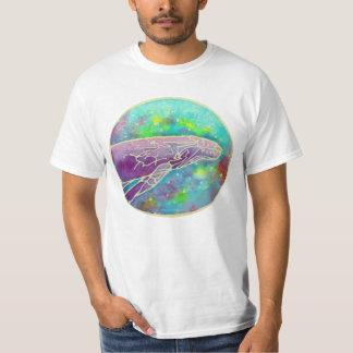 Batik Humpback Whale Art Tee Shirt