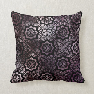 Batik indio - púrpura cojines