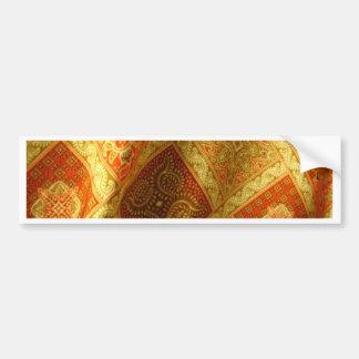 Batik indonesio pegatina para auto