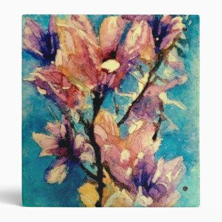 "Batik japonés de la acuarela de la magnolia carpeta 1"""