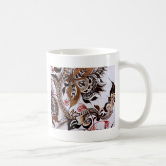 batik no.4 colection coffee mug