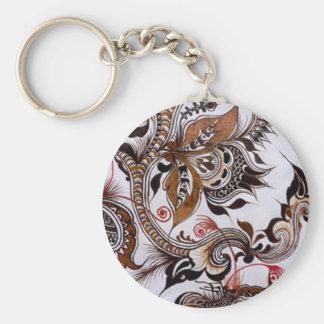 batik no.4 colection key chain