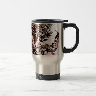 batik no.4 colection travel mug