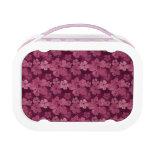 Batik rosado de las flores del hibisco