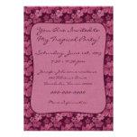 Batik rosado de las flores del hibisco anuncios