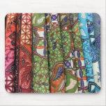 Batik sarong patterns mouse pads