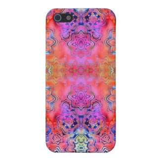 Batik Tie-Dye Texture for iPhone 5 Cover For iPhone SE/5/5s