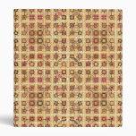 Batik tribal - marrón y moreno del camello