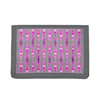 Batik tribal - rosa, violeta y gris fucsias