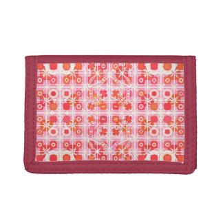 Batik tribal - rosa y rojo de la fresa