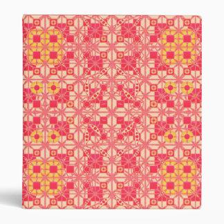 """Batik tribal - sombras del rosa coralino carpeta 1"""""""