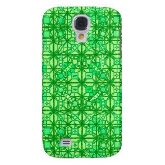 Batik tribal - sombras del verde