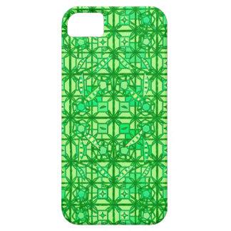 Batik tribal - sombras del verde iPhone 5 Case-Mate carcasas