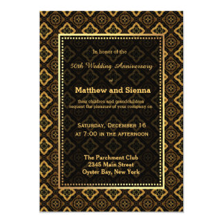 Batik Wedding Anniversary Card