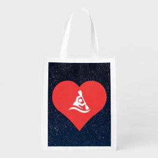 Batimiento de símbolo bolsas de la compra