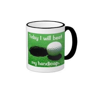 Batiré hoy mi desventaja taza de café