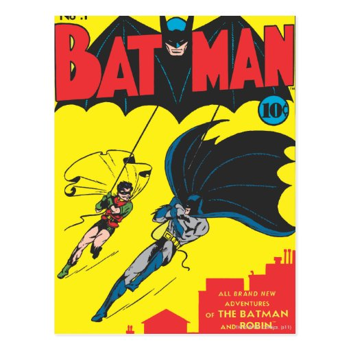 Batman #1 Comic Postcards