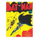 Batman #1 cómico postal