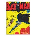Batman #1 cómico tarjeton