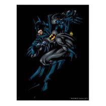 back to school, batman logo, yellow and black, batman, batman symbol, joker, the joker, gotham, gotham city, batman movie, bat, bats, super hero, super heroes, hero, heroes, villians, villian, batman art, batman comics, comic, batman comic, dc batman, batman villians, the penguin, penguin, the roman, falcone, the boss, boss, corrupt, two-face, two face, harvey dent, catwoman, hush, scarecrow, the mad hatter, mister freeze, mr freeze, Postcard with custom graphic design
