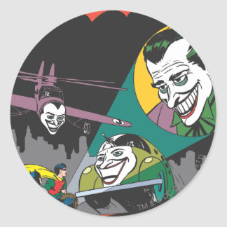 Batman #37 Comic Classic Round Sticker