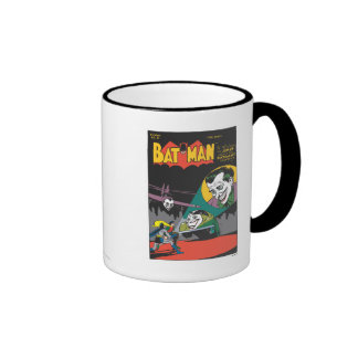 Batman #37 Comic Ringer Coffee Mug