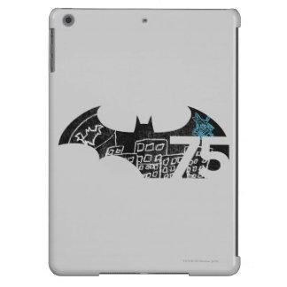 Batman 75 Logo - Chalkboard Case For iPad Air