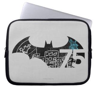 Batman 75 Logo - Chalkboard Laptop Computer Sleeve