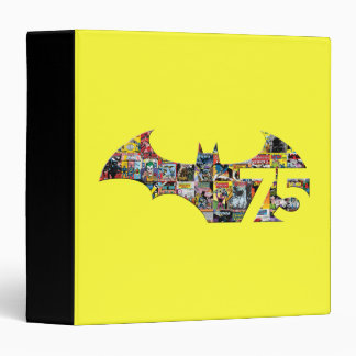 Batman 75 Logo - Comic Covers 3 Ring Binder
