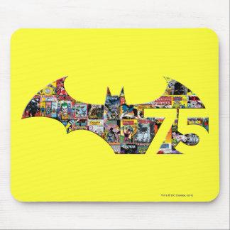 Batman 75 Logo - Comic Covers Mouse Pad