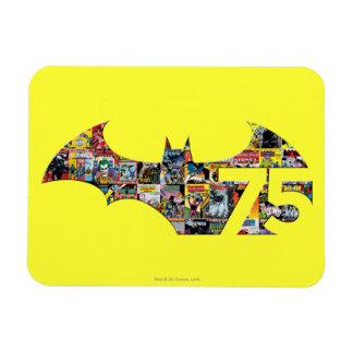 Batman 75 Logo - Comic Covers Rectangular Photo Magnet