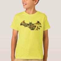Batman 75 Logo - Comic Covers T-Shirt