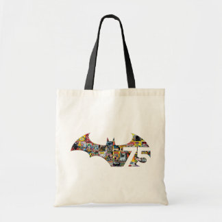 Batman 75 Logo - Comic Covers Tote Bag