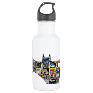 Batman 75 Logo - Comic Covers Water Bottle