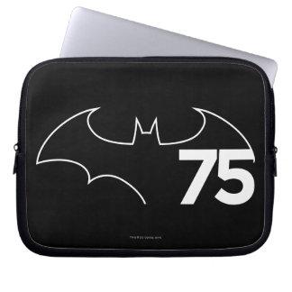 Batman 75 Logo Laptop Sleeve