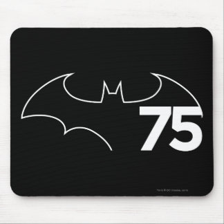 Batman 75 Logo Mouse Pad