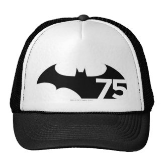 Batman 75 Logo Trucker Hat