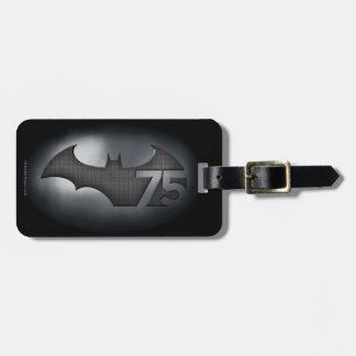 Batman 75 - Metal Grid Bag Tag