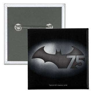 Batman 75 - Metal Grid Button