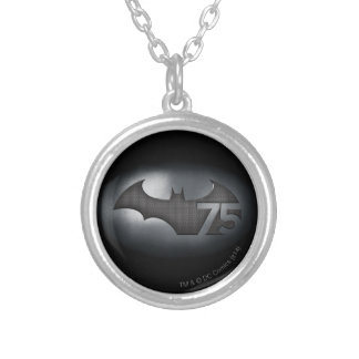 Batman 75 - Metal Grid Silver Plated Necklace