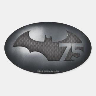 Batman 75 - Metal Grid Sticker