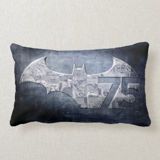 Batman 75 - Street Comics Pillow