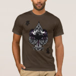 Batman Ace of Spaces Gothic Crest T-Shirt