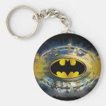 Batman adornó el logotipo llavero