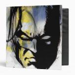 Batman Airbrush Portrait 3 Ring Binder