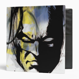 Batman Airbrush Portrait 3 Ring Binders