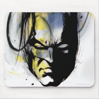 Batman Airbrush Portrait Mouse Pad