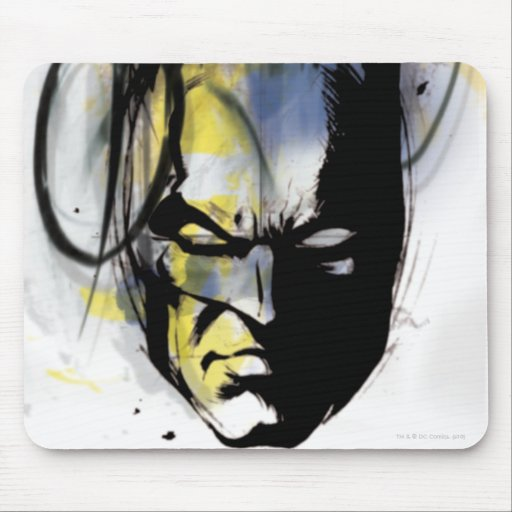 Batman Airbrush Portrait Mousepad