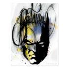 Batman Airbrush Portrait Postcard