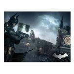 Batman And Oracle Postcard